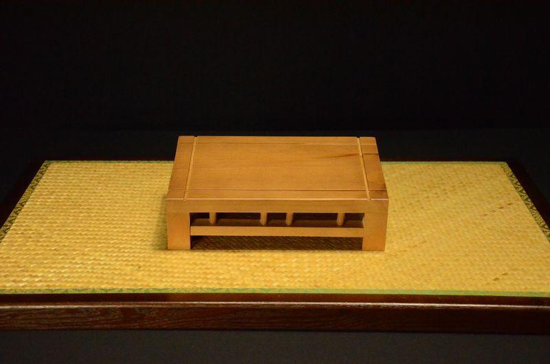 Mesa para bonsai acabado en roble - Mesas para bonsai ...